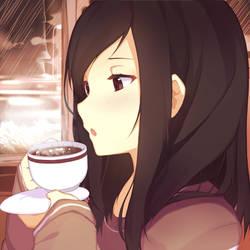 coffee break by Riki-to