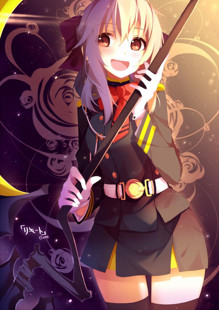 Bright Shinoa by Riki-to