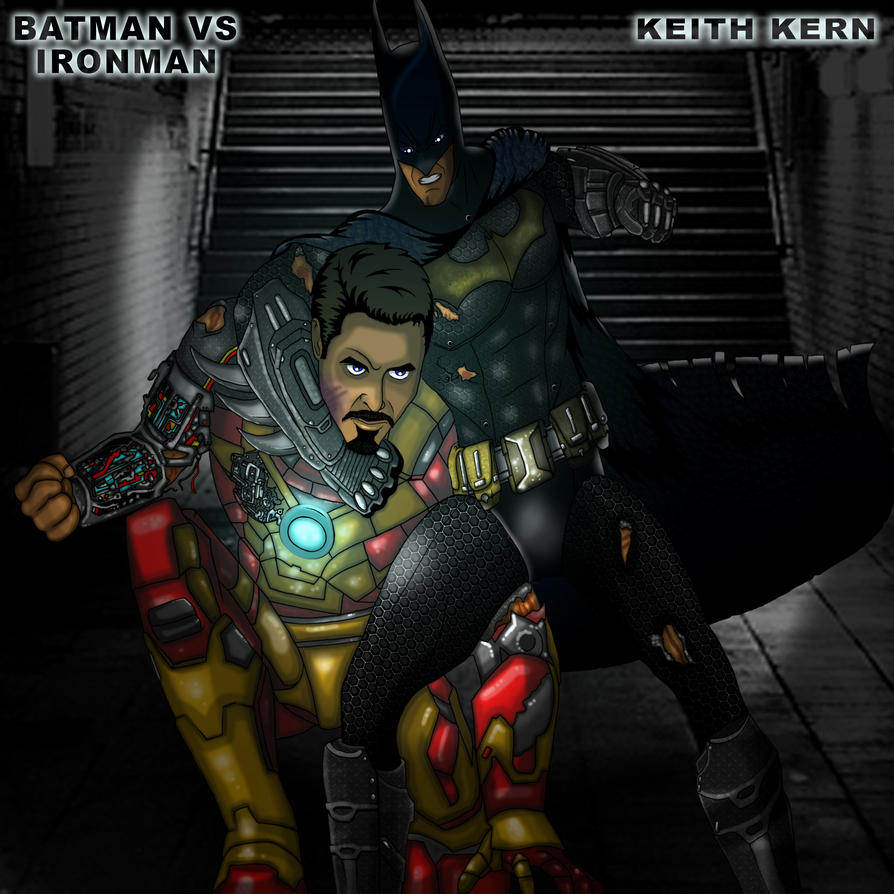 Batman vs Ironman by KeithKern on DeviantArt