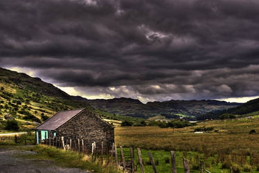 HDR  Snowdonia Landscape by AugustGaz