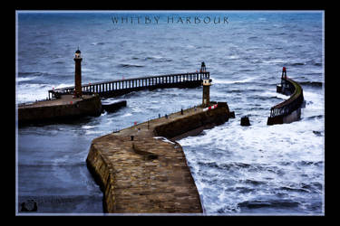Whitby Harbour by AugustGaz