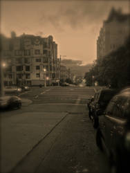 A San Francisco Street by pinballwitch