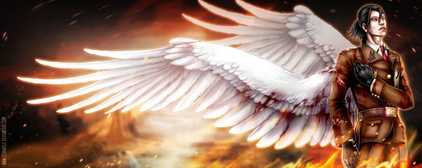 White angel of death by zerkwolf