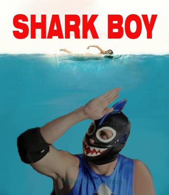 Shark Boy Immpersonation by theartman101 on DeviantArt