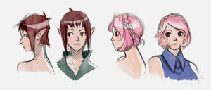DND character sketches