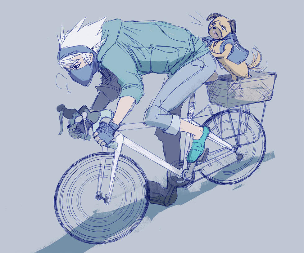 commuter kakashi by doven