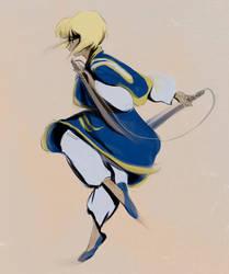 Young Kurapika by doven