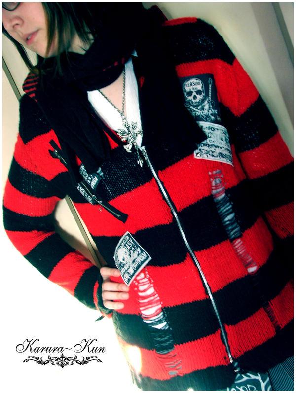 """[DUDA] Quiero tejer """"mal"""" !!! Karura_Kun_design_Knit_Sweater_by_Karura_Kun"""