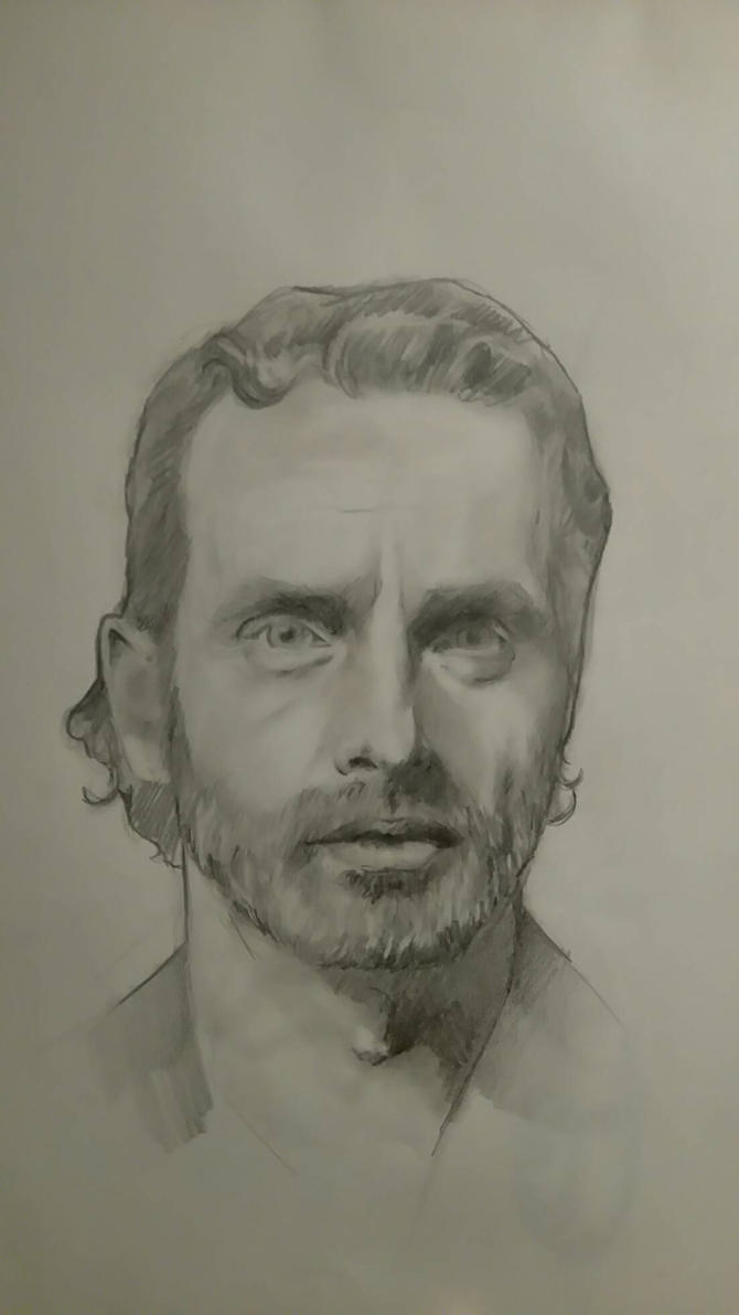 Andrew Lincoln  by 666pinky