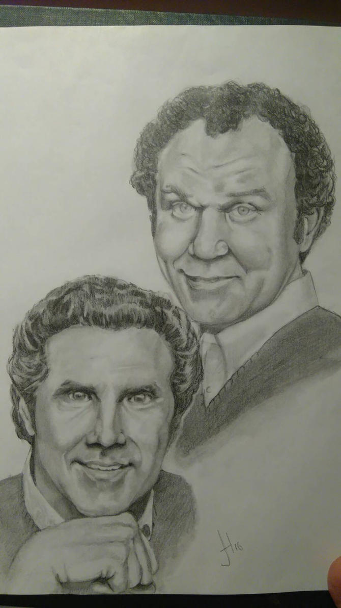 step brothers will ferrel and John c. reilly  by 666pinky