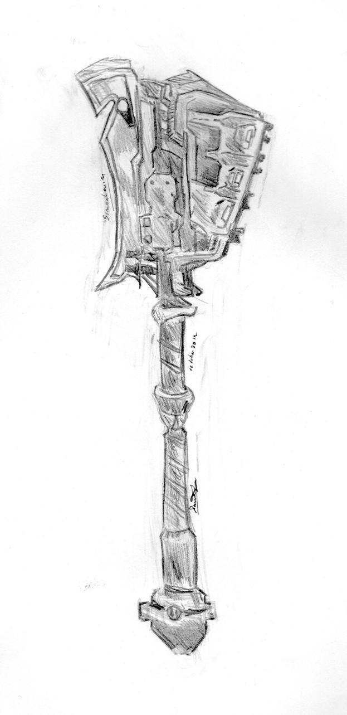 Gravity Hammer by AnsemsHeartless
