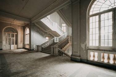 Asylum Stair by ragekay