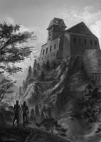 Mit wehenden Bannern - Castle by Pechschwinge