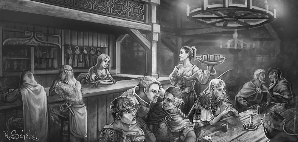Frostklirren - Die Taverne Goldrausch by GaiasAngel