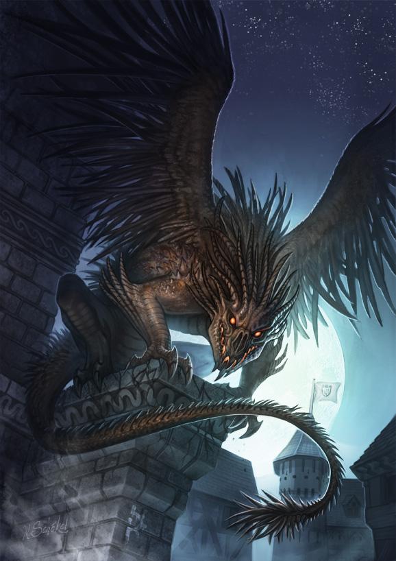 Cover Art - Gargoyle by GaiasAngel