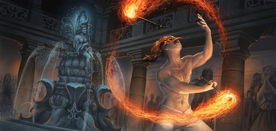 Firedancer by GaiasAngel