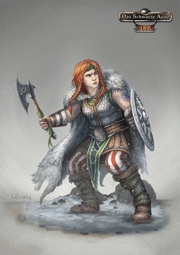Tjalva Garheltdottir by GaiasAngel