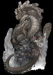 Aventuria Bestiary - Cave Dragon