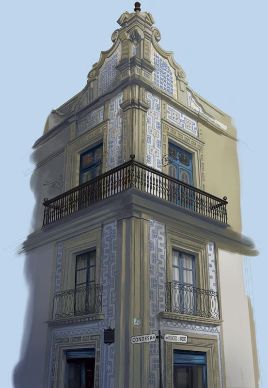 Casa de los azulejos by gabrielherrera on deviantart for Casa de los azulejos mexico city