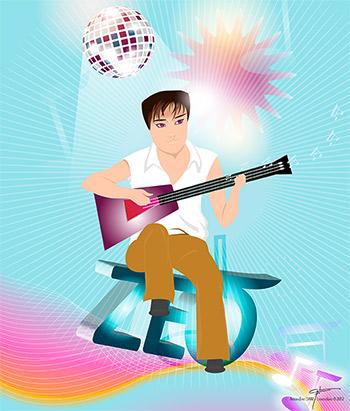 Guitare by Levendivin