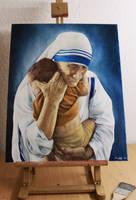 Mother Teresa by neysha-sheyla