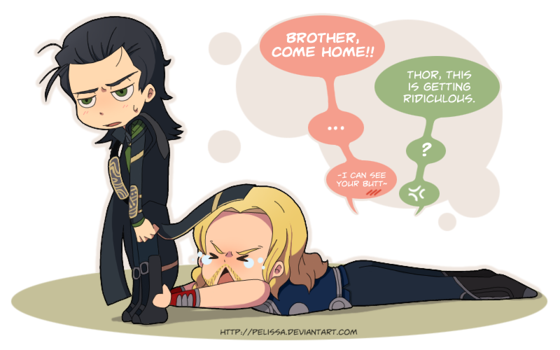The Avengers FanArts - Página 7 Thor___come_back_home_pretty_please_by_pelissa-d51r3sl