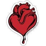 corazon, fake sticker