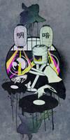 DJ Komuso a.k.a  DJ Zen-Monk