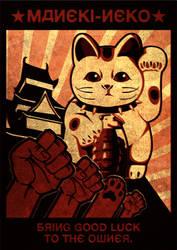 Lucky Cat Propaganda by ElPino0921