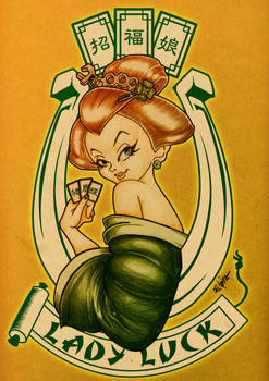 Geisha lady luck