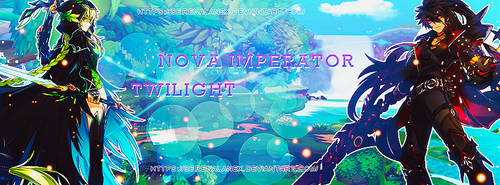 Portada Nova Imperator y Twilight by SerenaLanex