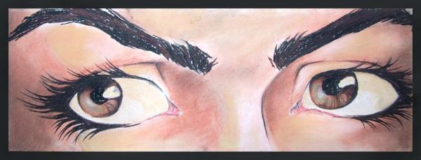 Brown eyes by lunesisAkaRAPTOR