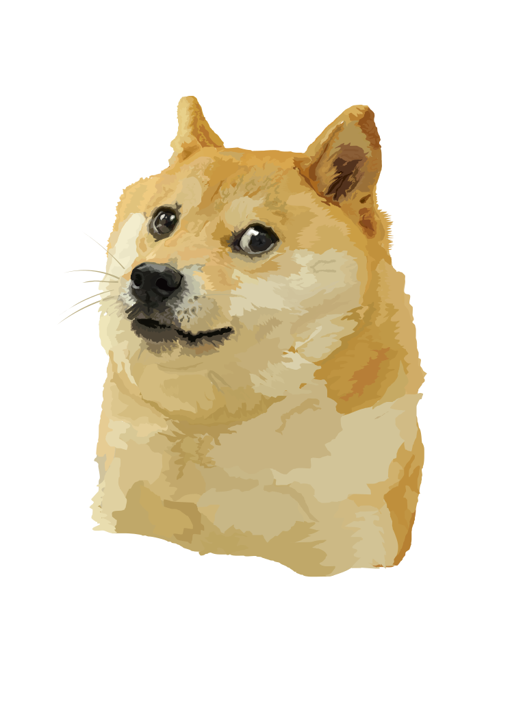 Doge! Vector edition. by originalCzechball
