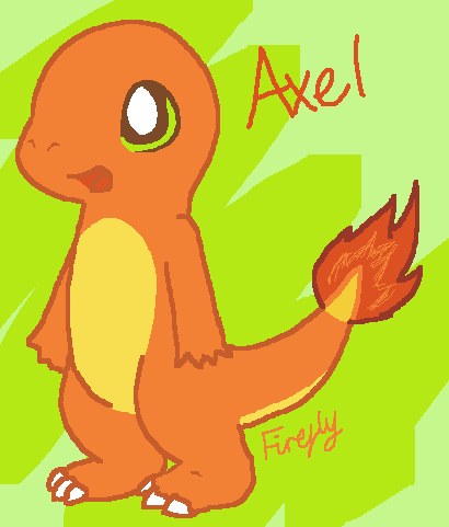 Axel the Charmander by FireflyYoshi