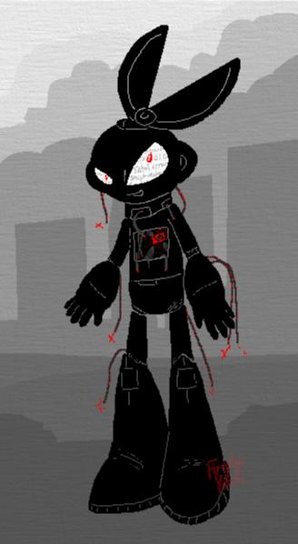 Cut Man - Destructive Silhouette by FireflyYoshi