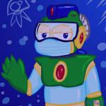 Bubble Man - collab pic