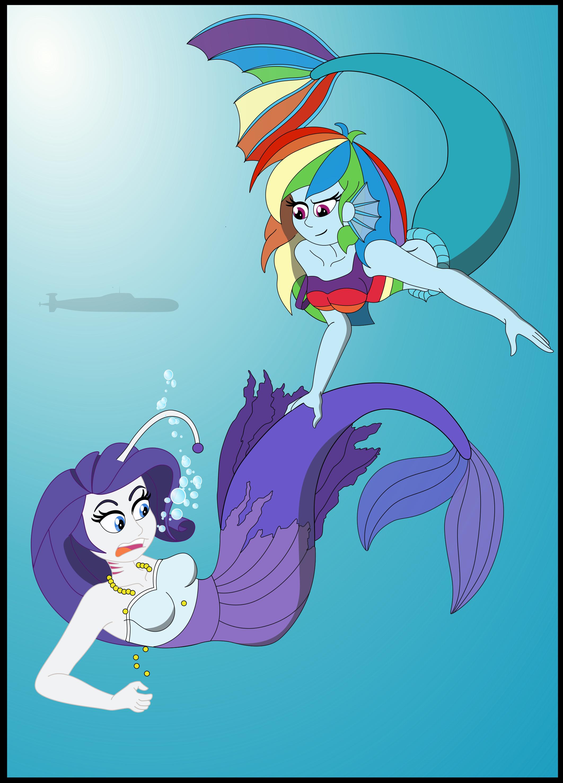 Crazy Transformation into Mermaids Aquastria Game (My ...