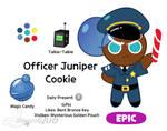 Office Juniper Cookie [Cookie Run Oc]