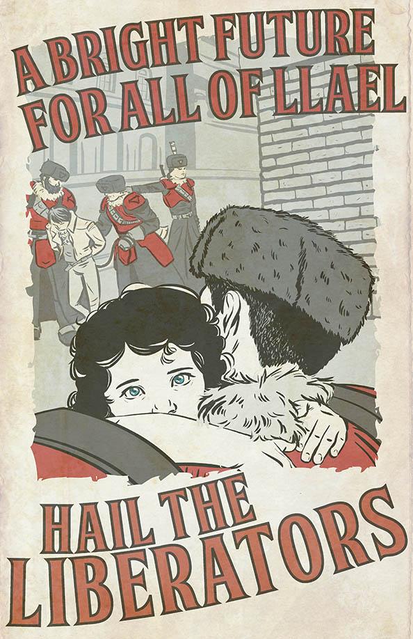 Khadorian Propaganda Poster NEW by Fly-Dog