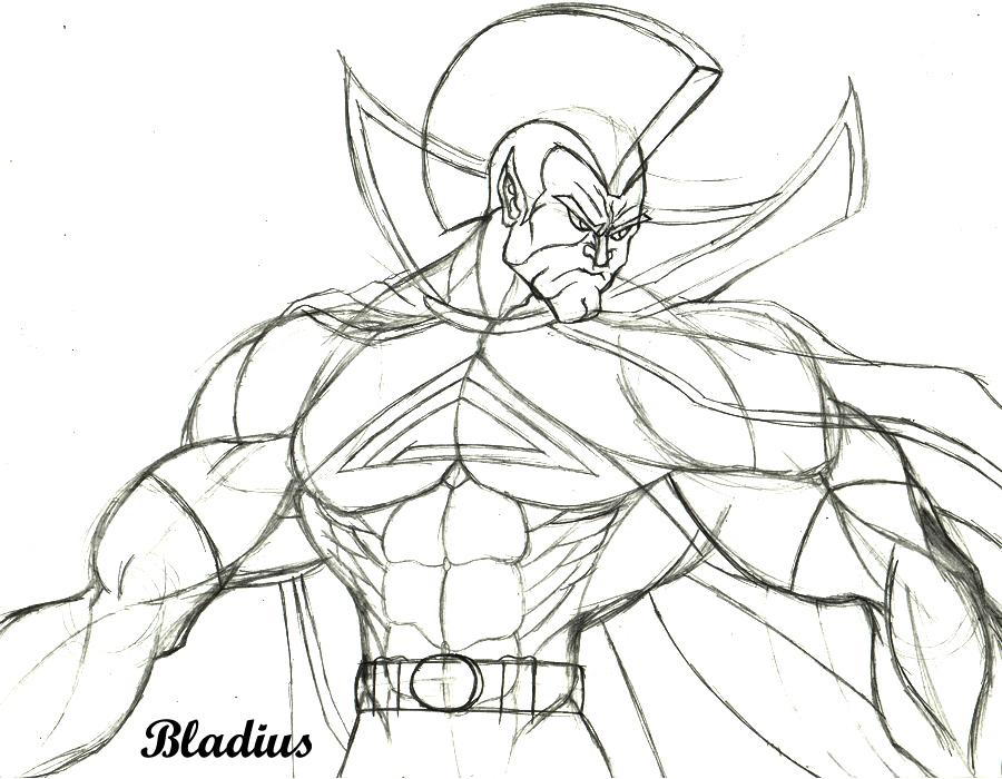 Roman Gladiator Sketch Gladiator sketch by bladius021