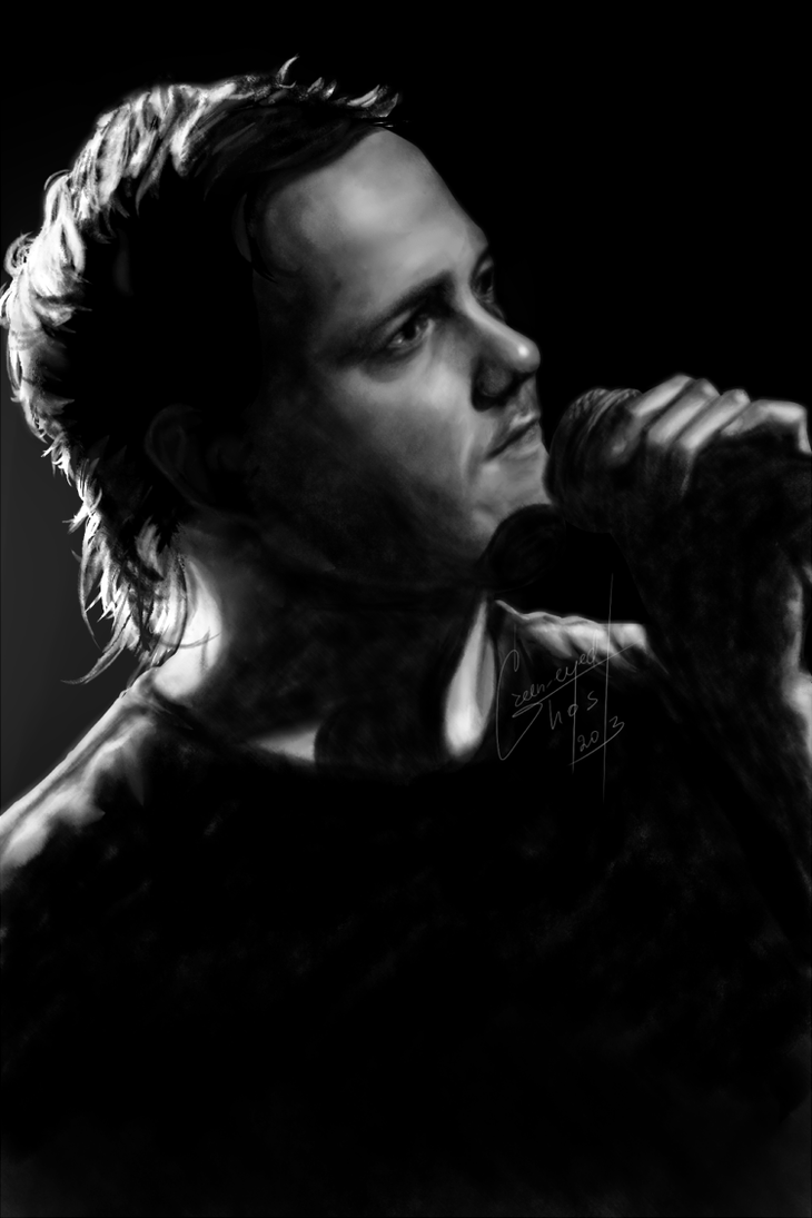 Dan Reynolds by Green-EyedGhost