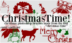 Christmas Time PS Brushes. by allisonwashko