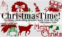 Christmas Time PS Brushes. by allisonwashko