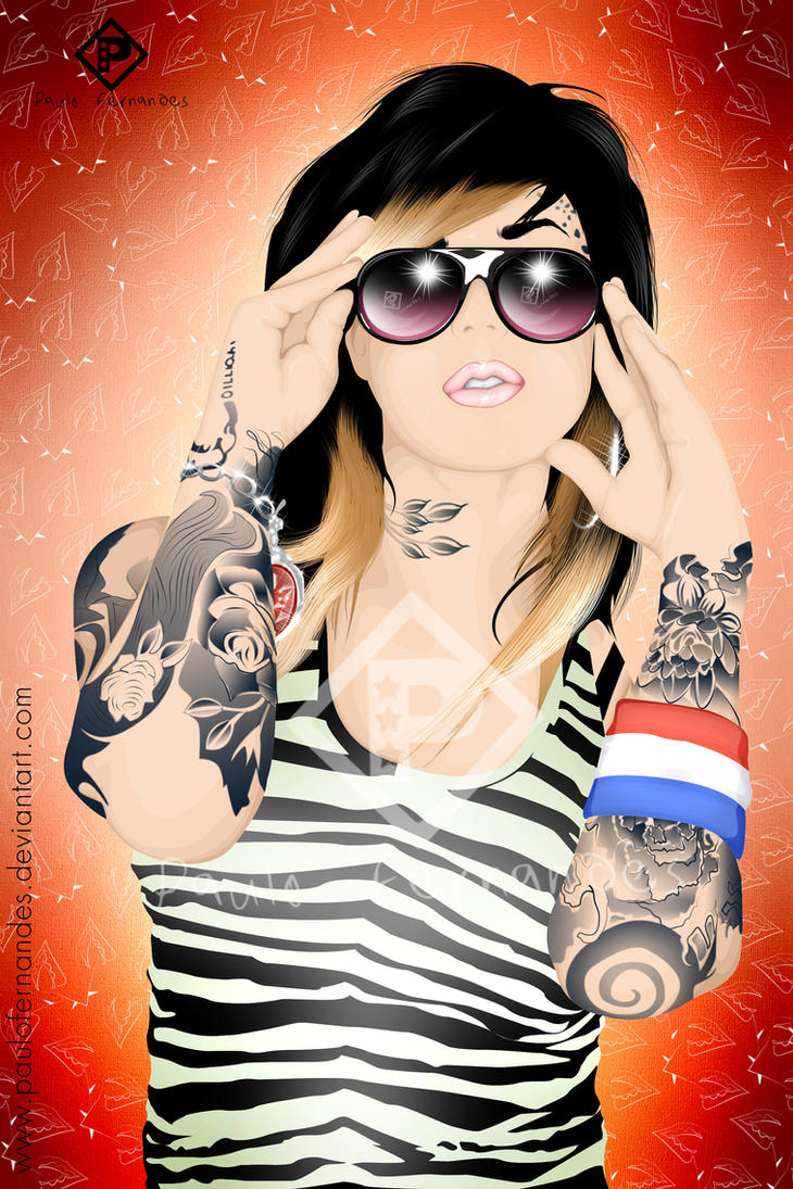 Kat Von D Miami Ink by