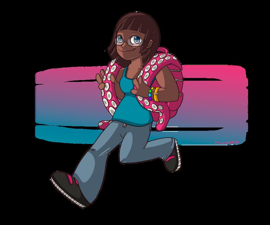 Her Octopus Backpack by i-Moosker