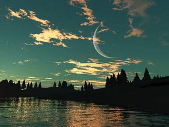 Sundown by Aradon-Templar