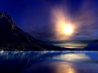 Bliss Lake by Aradon-Templar