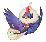 Rooster Year Chibi Mikio