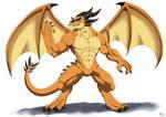 Humanoid Dragon
