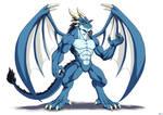 Humanoid dragon 3